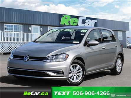 2019 Volkswagen Golf 1.4 TSI Comfortline (Stk: 200549A) in Moncton - Image 1 of 22