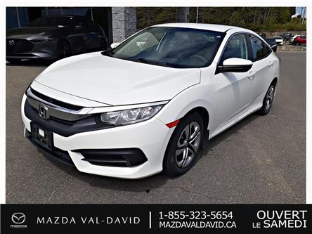 2016 Honda Civic LX (Stk: 20024A) in Val-David - Image 1 of 19