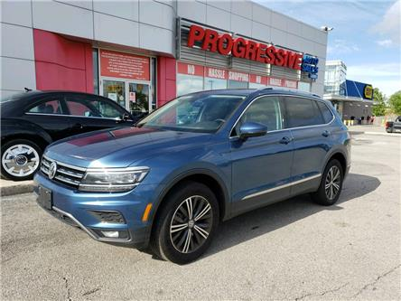2019 Volkswagen Tiguan Highline (Stk: KM165182) in Sarnia - Image 1 of 19
