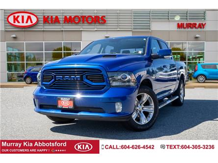 2018 RAM 1500 Sport (Stk: NP96169A) in Abbotsford - Image 1 of 26