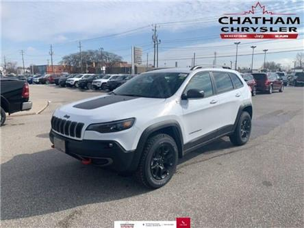 2020 Jeep Cherokee Trailhawk***Sold**Sold**Sold** (Stk: U04434) in Chatham - Image 1 of 13