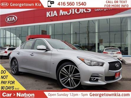 2015 Infiniti Q50 AWD | 3.7L V6 | NAV | SUNROOF | B/U CAM | LEATHER (Stk: P13163) in Georgetown - Image 1 of 30