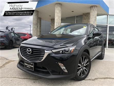 2017 Mazda CX-3 GT (Stk: M20052A) in Steinbach - Image 1 of 31