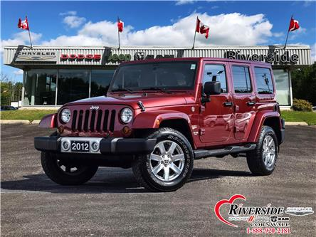 2012 Jeep Wrangler Unlimited Sahara (Stk: N19210A) in Cornwall - Image 1 of 28