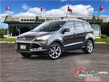 2016 Ford Escape Titanium (Stk: U08005A) in Cornwall - Image 1 of 30
