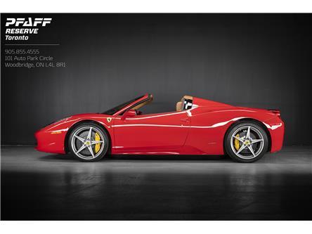 2014 Ferrari 458 Base (Stk: ) in Woodbridge - Image 1 of 19