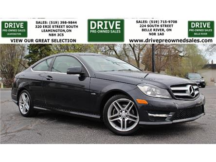 2012 Mercedes-Benz C-Class Base (Stk: D0221) in Belle River - Image 1 of 23