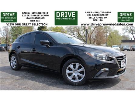 2015 Mazda Mazda3 Sport GX (Stk: D0235) in Belle River - Image 1 of 23
