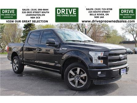 2016 Ford F-150 Lariat (Stk: D0268) in Belle River - Image 1 of 27