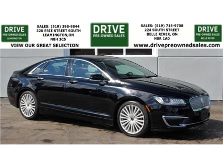 2017 Lincoln MKZ Reserve (Stk: B0018) in Belle River - Image 1 of 30