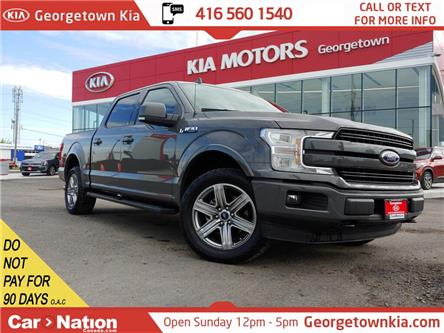 2018 Ford F-150 Lariat 4WD| LEATHER| ROOF| NAVI |ONE OWNER|TOW PKG (Stk: P13356) in Georgetown - Image 1 of 47