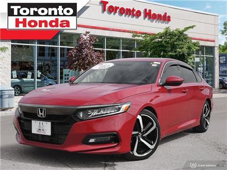 2018 Honda Accord Sedan Sport 2.0T (Stk: H40187T) in Toronto - Image 1 of 27