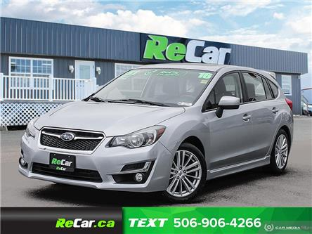 2016 Subaru Impreza 2.0i Sport Package (Stk: 200594A) in Saint John - Image 1 of 23