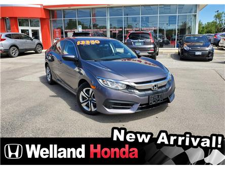 2016 Honda Civic LX (Stk: U20168) in Welland - Image 1 of 10