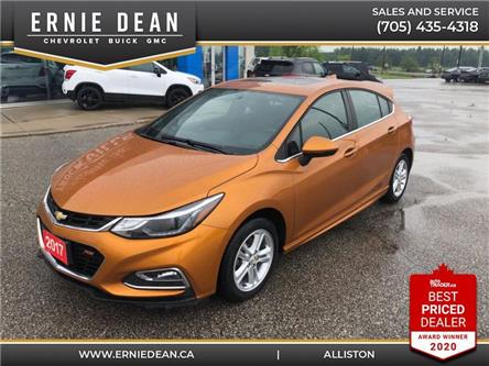 2017 Chevrolet Cruze Hatch LT Manual (Stk: 15248A) in Alliston - Image 1 of 11