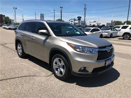 2016 Toyota Highlander Limited (Stk: 42257A) in Chatham - Image 1 of 14