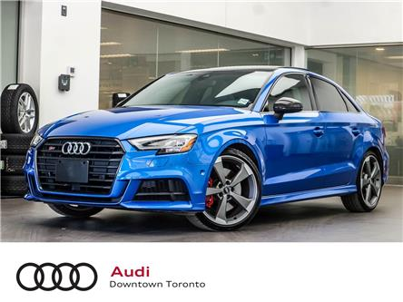 2019 Audi S3 2.0T Technik (Stk: P3736) in Toronto - Image 1 of 29