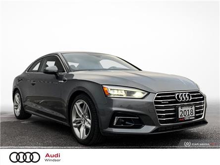 2018 Audi A5 2.0T Technik (Stk: 20466) in Windsor - Image 1 of 30