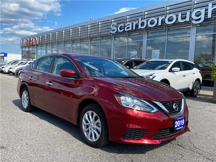 2019 Nissan Sentra 1.8 SV (Stk: C19047) in Scarborough - Image 1 of 5