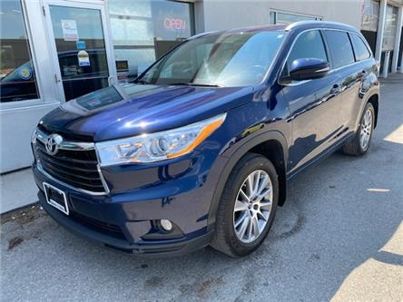 2016 Toyota Highlander XLE (Stk: U01609) in Guelph - Image 1 of 30