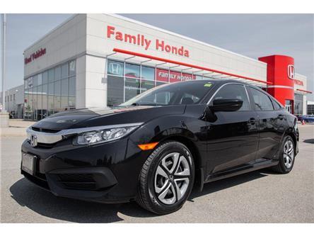 2016 Honda Civic Sedan 4dr CVT LX | ECO MODE | BLUETOOTH | (Stk: 030013T) in Brampton - Image 1 of 13