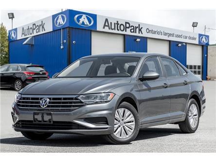 2019 Volkswagen Jetta 1.4 TSI Comfortline (Stk: 19-85609R) in Georgetown - Image 1 of 18