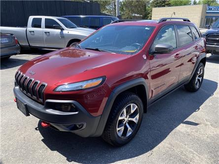 2015 Jeep Cherokee Trailhawk (Stk: 20057) in North Bay - Image 1 of 14