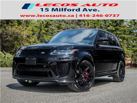 2020 Land Rover Range Rover Sport SVR (Stk: 702283) in Toronto - Image 1 of 25