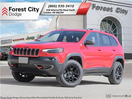 2020 Jeep Cherokee Trailhawk (Stk: 20-8003) in London - Image 1 of 23