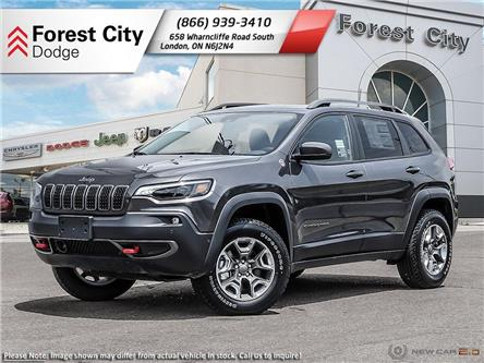 2020 Jeep Cherokee Trailhawk (Stk: 20-8010) in London - Image 1 of 23