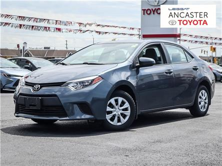2016 Toyota Corolla  (Stk: 3992) in Ancaster - Image 1 of 12