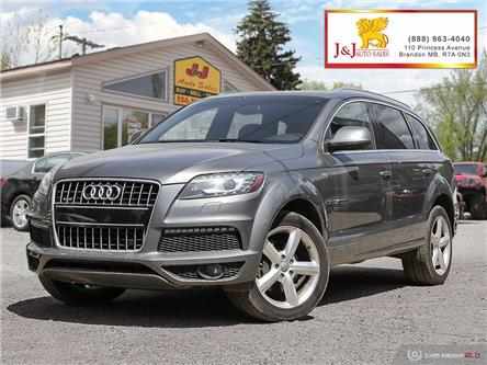 2012 Audi Q7 3.0 TDI Premium Plus (Stk: JB2039) in Brandon - Image 1 of 27