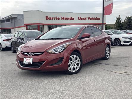 2014 Hyundai Elantra GL (Stk: U14293) in Barrie - Image 1 of 24