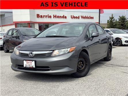2012 Honda Civic LX (Stk: U12021) in Barrie - Image 1 of 21