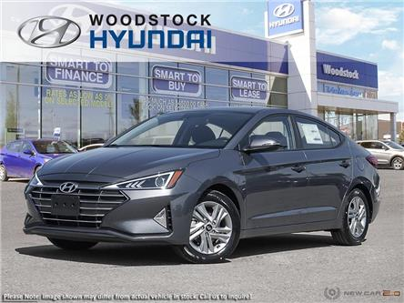 2020 Hyundai Elantra Preferred w/Sun & Safety Package (Stk: EA20050) in Woodstock - Image 1 of 23