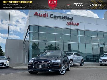 2018 Audi A4 allroad 2.0T Progressiv (Stk: C7433) in Woodbridge - Image 1 of 22
