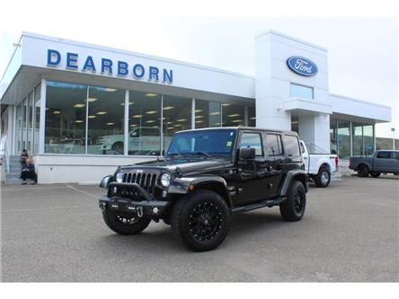 2015 Jeep Wrangler Unlimited SAHARA (Stk: TK454AA) in Kamloops - Image 1 of 31