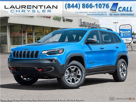2020 Jeep Cherokee Trailhawk (Stk: 20187) in Sudbury - Image 1 of 23
