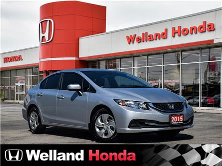 2015 Honda Civic LX (Stk: U20095) in Welland - Image 1 of 24