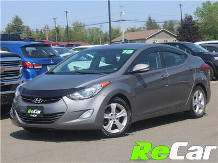 2013 Hyundai Elantra Limited (Stk: 191406B) in Fredericton - Image 1 of 11