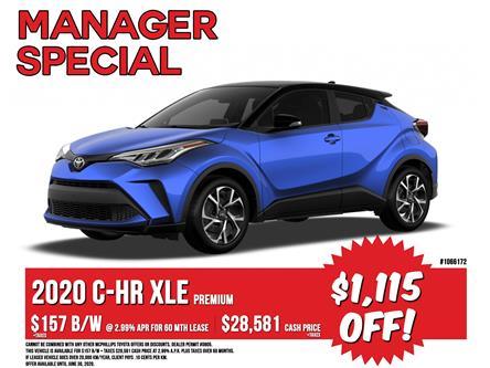 2020 Toyota C-HR XLE Premium (Stk: 1066172) in Winnipeg - Image 1 of 24