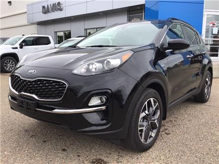 2020 Kia Sportage EX (Stk: 210177) in Brooks - Image 1 of 20