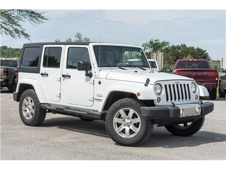 2017 Jeep Wrangler Unlimited Sahara (Stk: 27491UX) in Barrie - Image 1 of 23