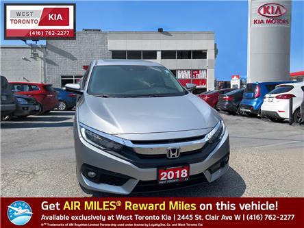 2018 Honda Civic Touring (Stk: T21013) in Toronto - Image 1 of 11