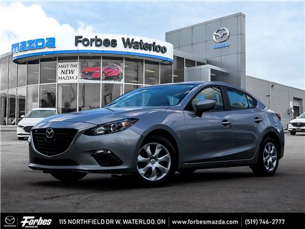 2016 Mazda Mazda3 GX (Stk: L2411) in Waterloo - Image 1 of 23