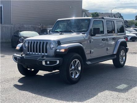 2020 Jeep Wrangler Unlimited Sahara (Stk: 20135) in Rockland - Image 1 of 7