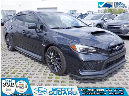 2019 Subaru WRX STI Sport (Stk: SS0391) in Red Deer - Image 1 of 18