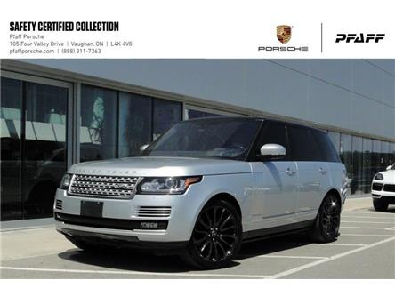2016 Land Rover Range Rover V8 Autobiography Supercharged SWB (Stk: U8694) in Vaughan - Image 1 of 22