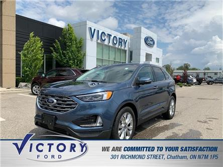 2019 Ford Edge Titanium (Stk: V10380CAP) in Chatham - Image 1 of 16