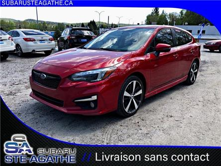 2017 Subaru Impreza Sport-tech (Stk: A2988) in Sainte-Agathe-des-Monts - Image 1 of 20